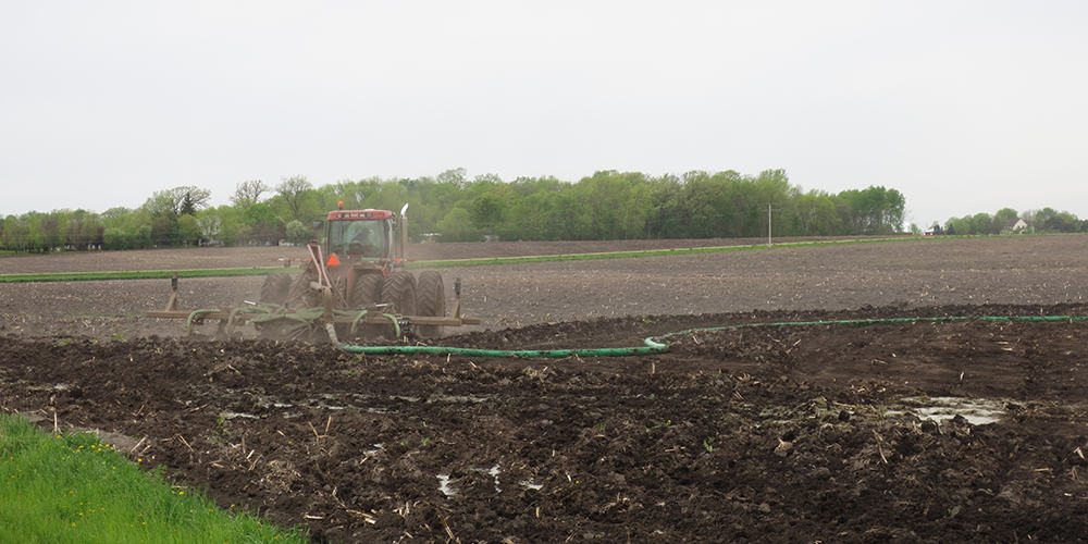Liquid Manure Application Draghose