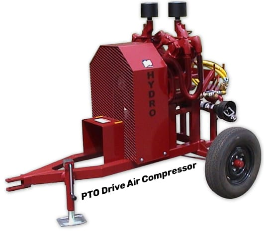 Wheeled Air Compressor
