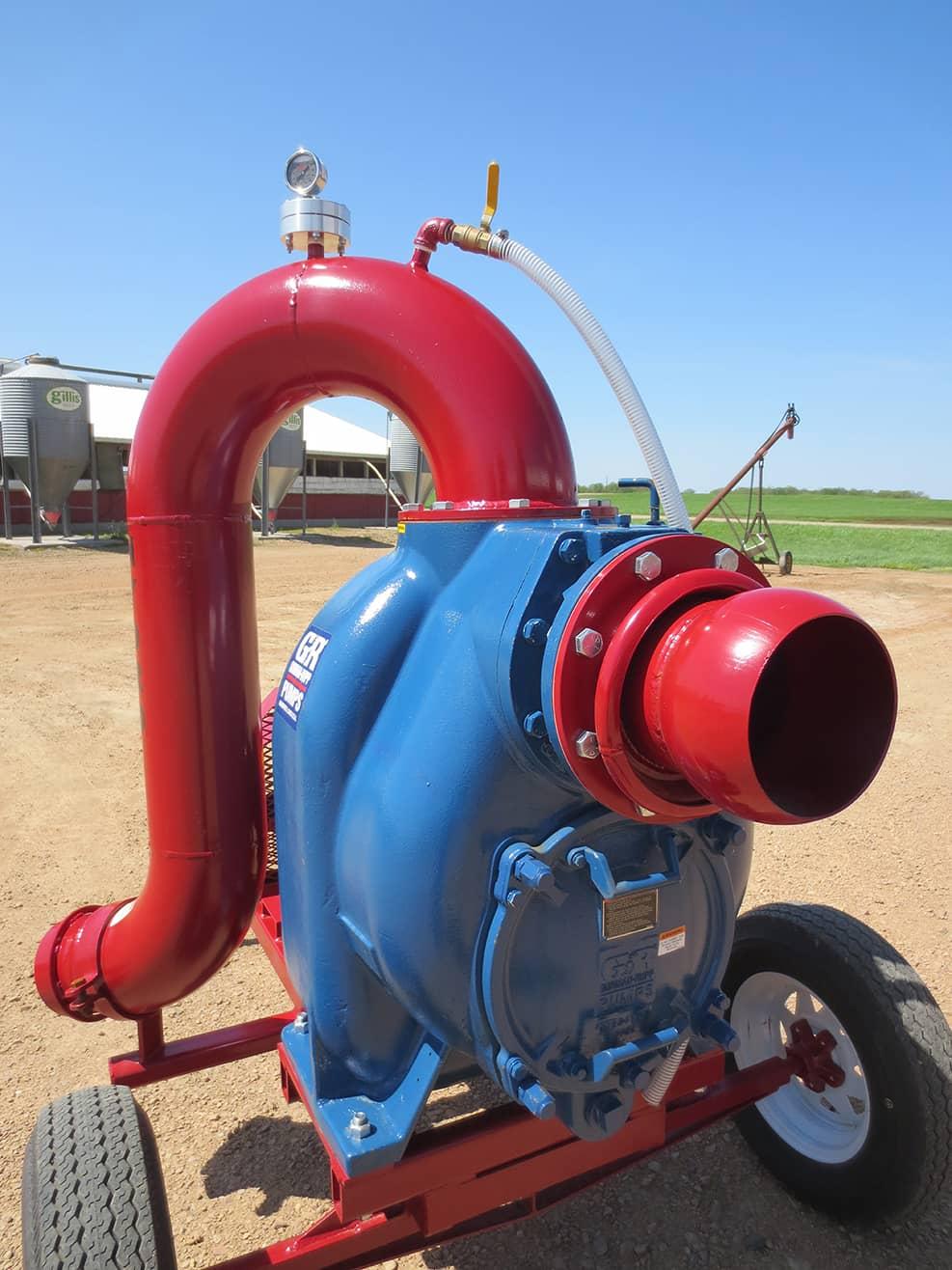 Hydro Engineering Gorman Rupp Bio-Secure Liquid Manure Pump