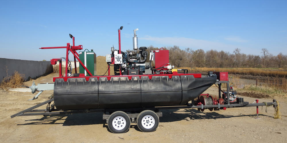 Hydro F1 Manure Agitation Boat
