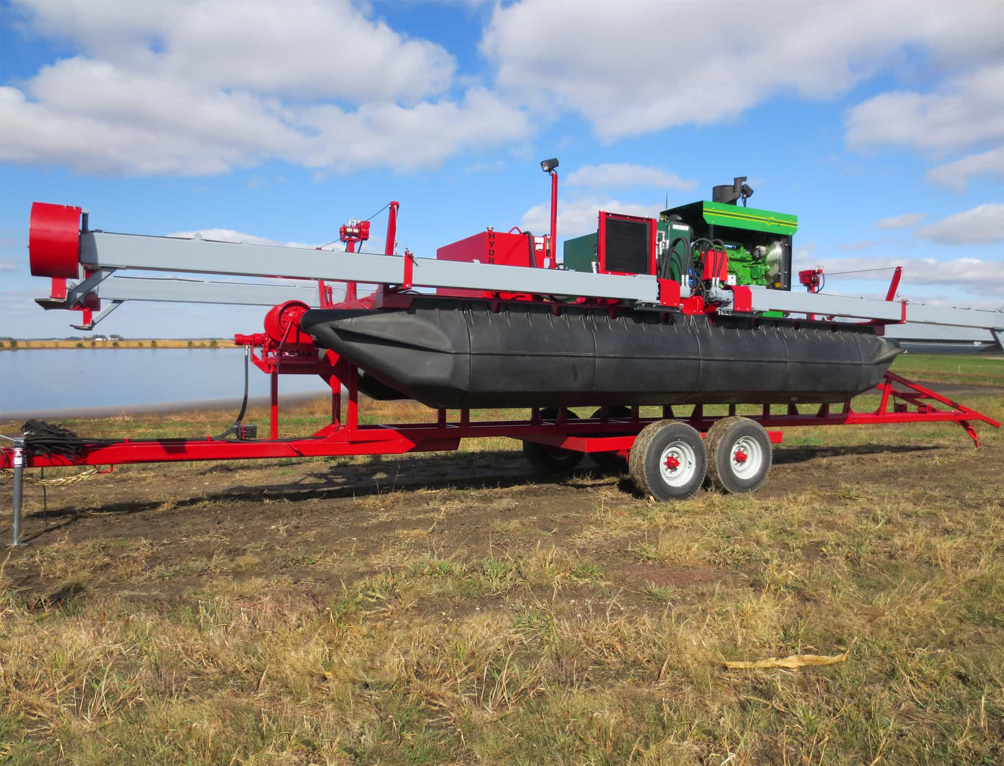 Hydro F4 Manure Agitation Boat