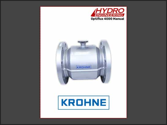 Krohne Optiflux 4000