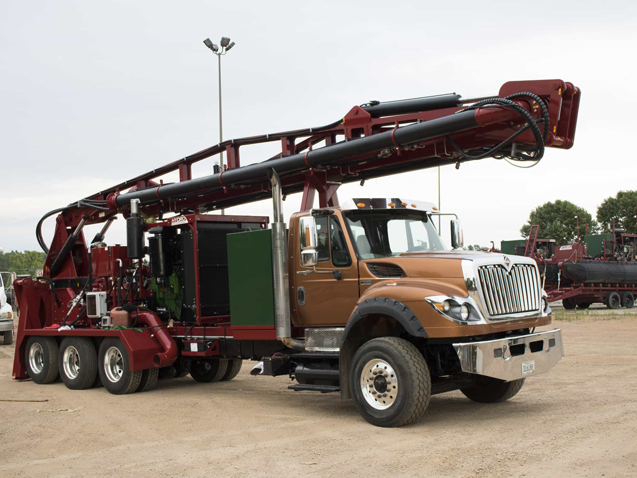 Liquid Manure Pump Truck
