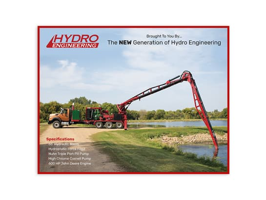 Hydro Engineering Liquid Manure Pump Truck