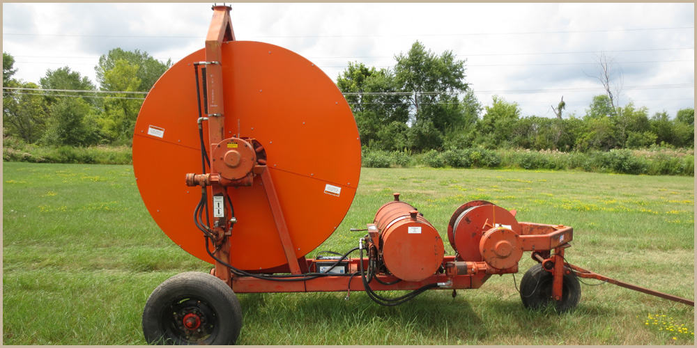 Hydro Engineering Traveling Gun