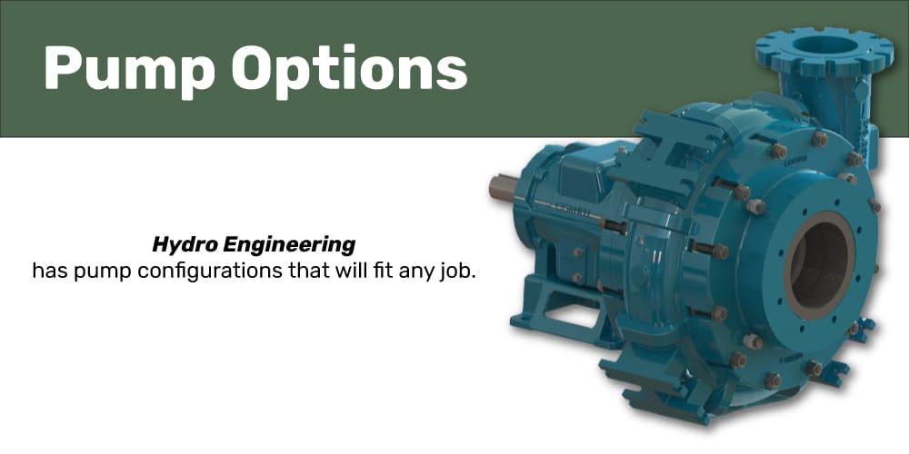 Hydro Engineering Pump Options