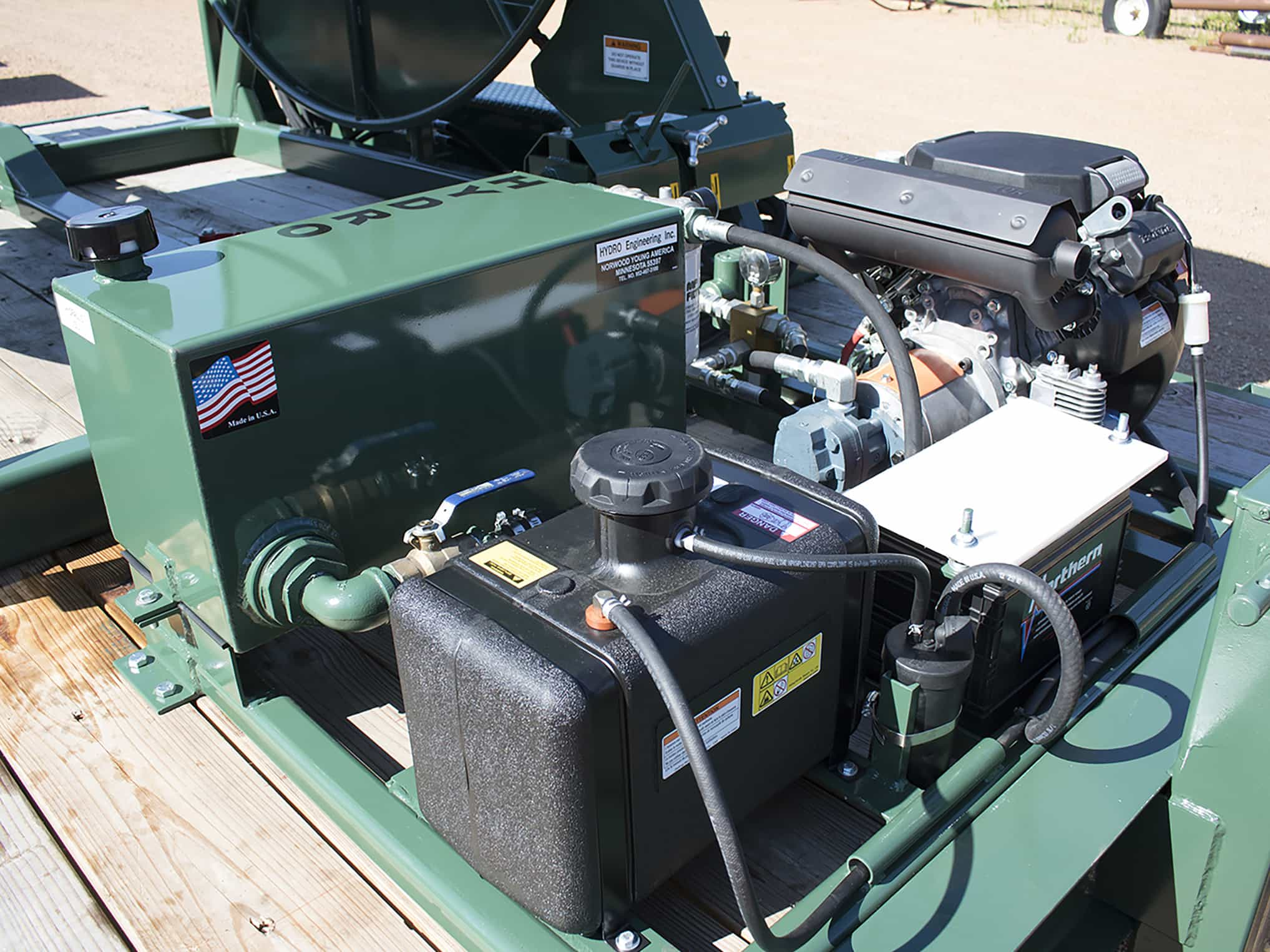 Hydro Engineering Portable Hydraulic Power Pack