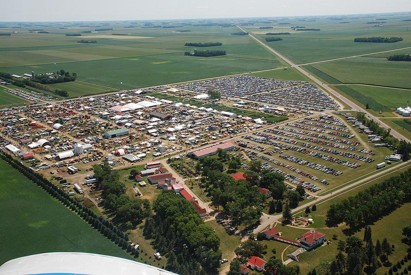 farmfest fly over