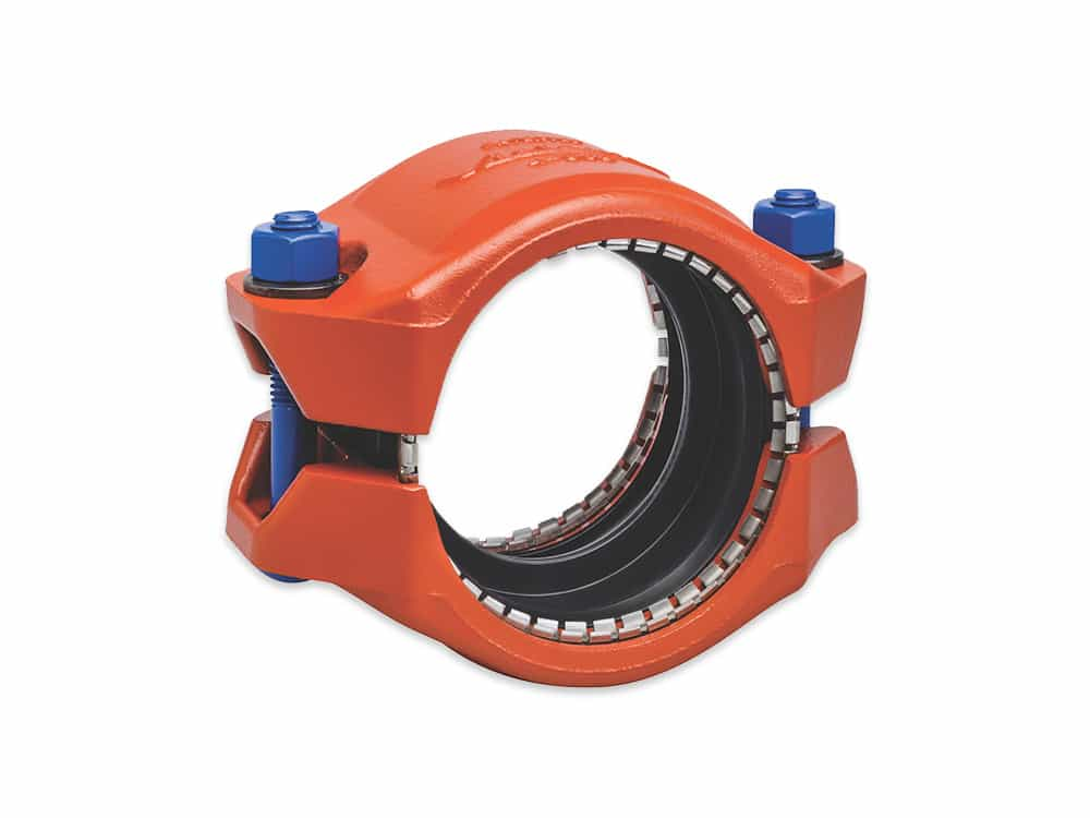 victaulic coupler and flange
