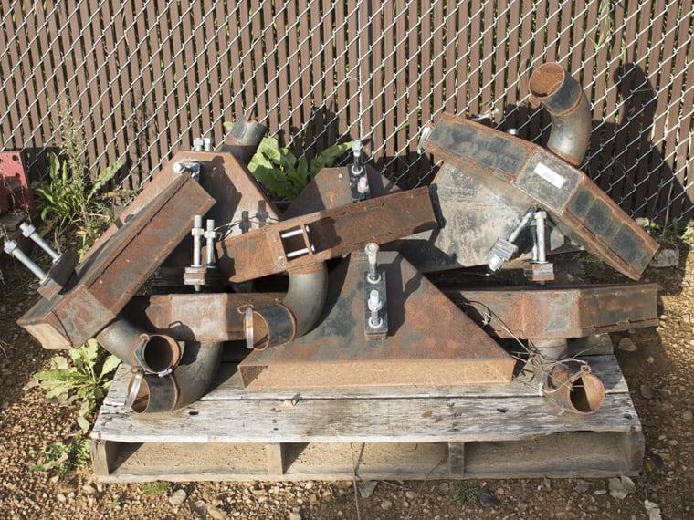 Hydro Engineering Used Splash Pans