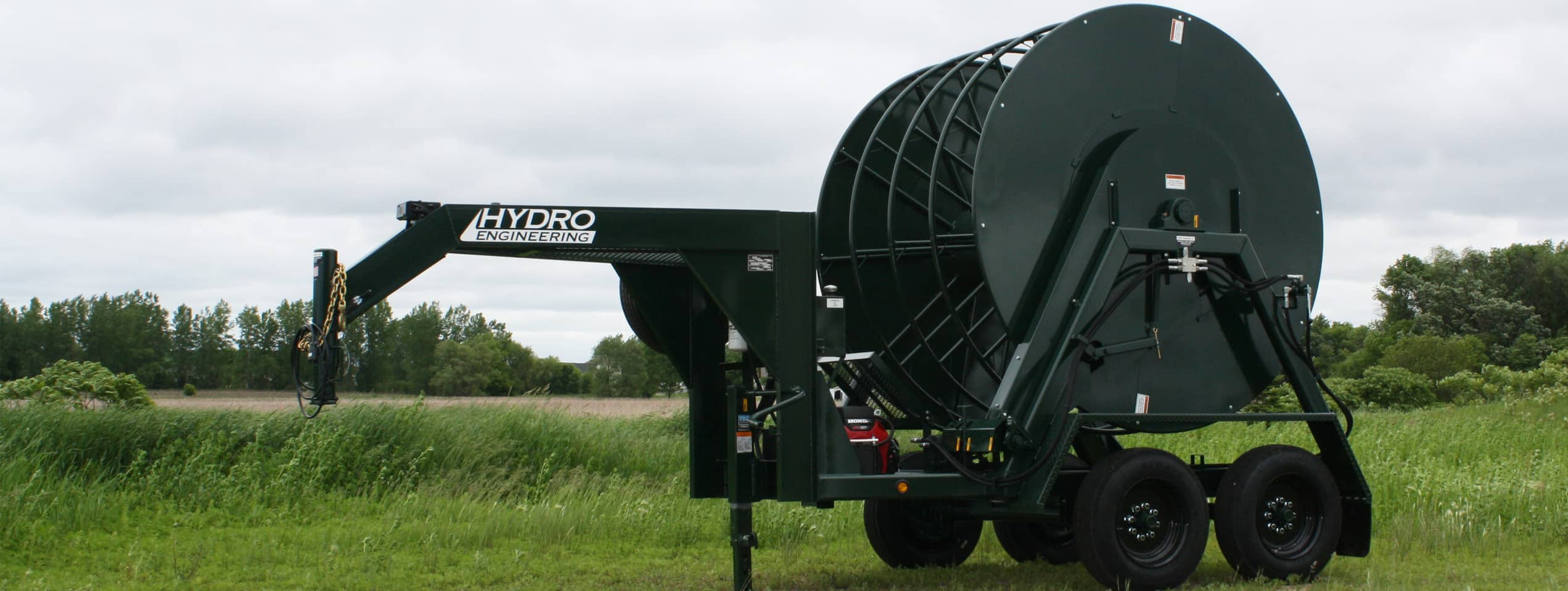 Hydro Engineering O&G Hose Reel