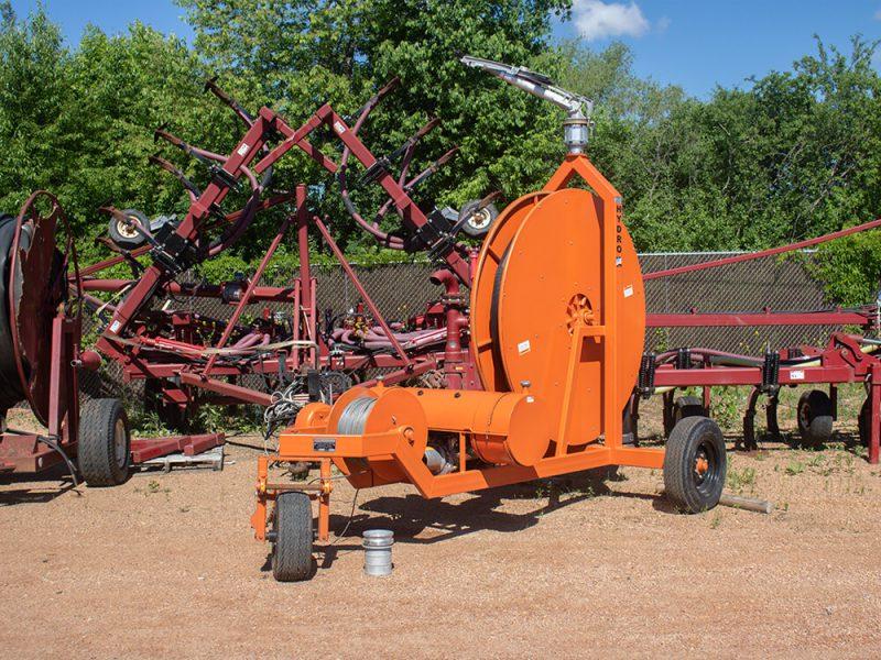 Hydro Engineering Traveling Gun Hose Reel
