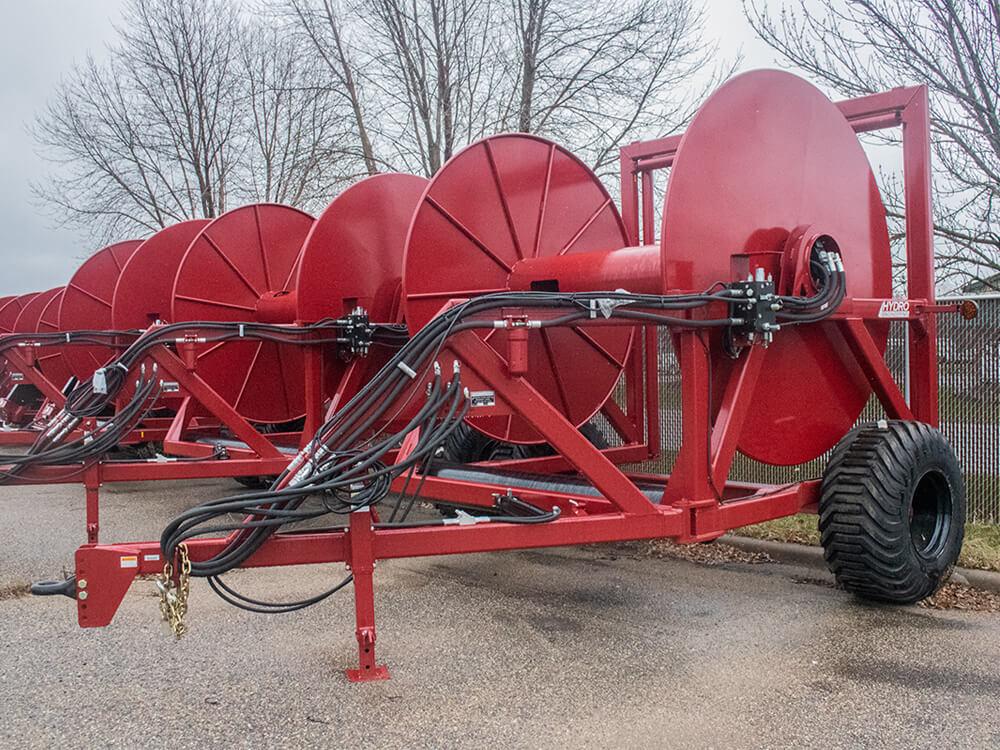 Hydro Engineering HR128-AG Layflat Hose Reel