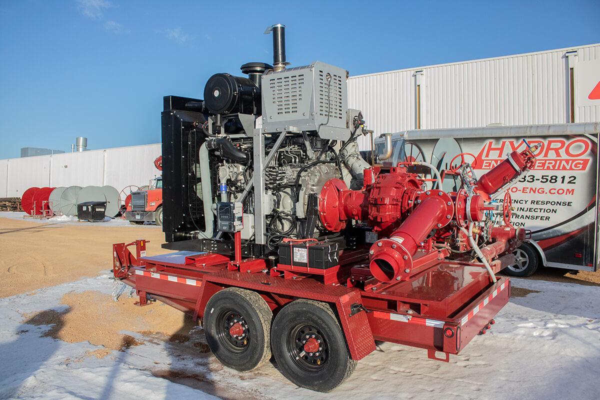 Hydro Engineering Liquid Manure Pump Station