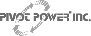 Pivot Power Logo gray