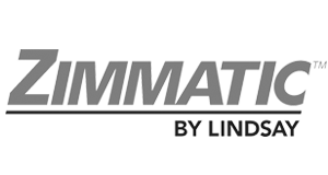 Zimmatic By Lindsay Logo gray
